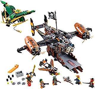 LEGO Toys for children CHINA BRAND 06028 self-locking bricks Compatible with Ninjago Misfortune's Keep 70605 no original box