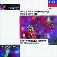 Schnittke: Concerti Grosso No. 4 / Symphony No. 5 ; Concerto Grosso No. 3
