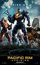 PACIFIC RIM: UPRISING (2018) Original Authentic Movie Poster 27x40 - Double - Sided - John Boyega - Scott Eastwood - Rinko Kikuchi - Charlie Day