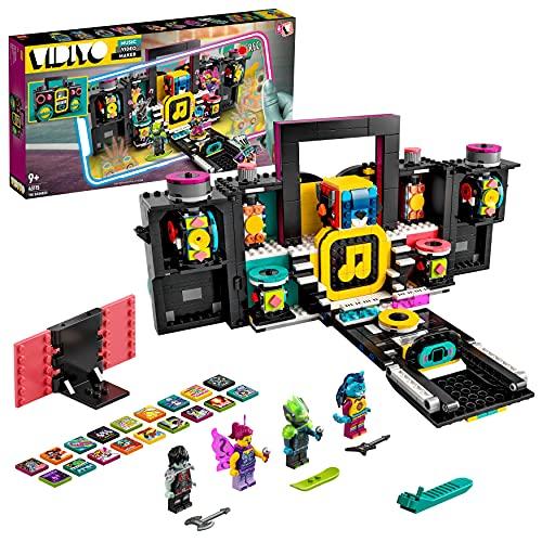 LEGO 43115 VIDIYO The Boombox Beatbox Music Video Maker, Musik Spielzeug Set für Kinder mit AR App