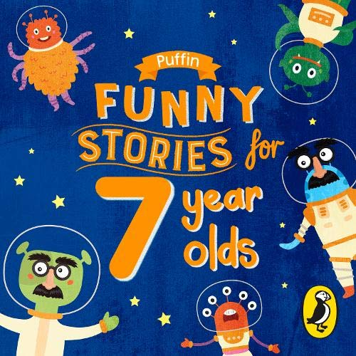 『Puffin Funny Stories for 7 Year Olds』のカバーアート