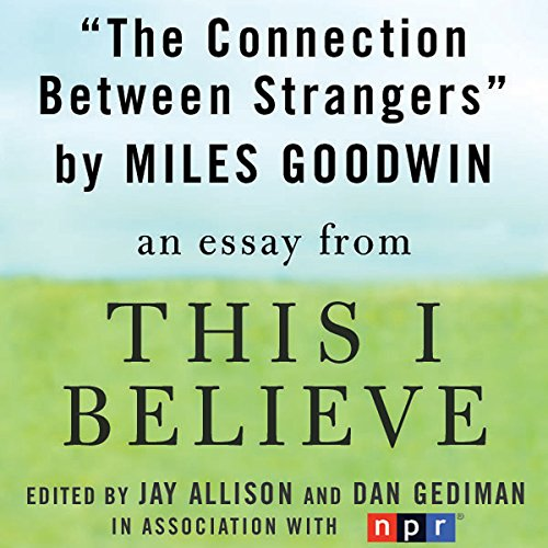 The Connection Between Strangers audiobook cover art
