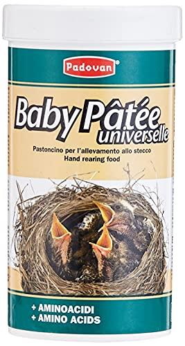 Padovan Baby Patée - Pastoncino per l allevamento allo stecco - per Nidiacei di Uccelli Granivori - 100 gr