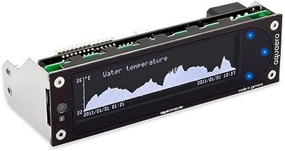 Aquacomputer aquaero 6 XT black/blue USB fan controller, graphic LCD, touch control, IR remote control