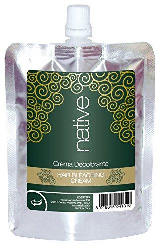 Native - Decolorante in crema biologico per capelli, non aggredisce massimo risultato(250g)