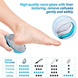Zoom IMG-1 raspa piedi professionale in vetro