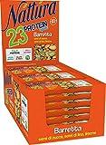 eurofood barretta nattura protein sport semi zucca lino e limone bio espositore - 750 g