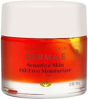 DERMA E Sensitive Skin Oil-Free Moisturizer, 2 oz