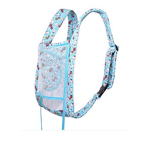 traditionnel de transport multifonctions pour nouveau-né (Bleu clair)