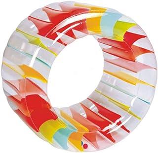 XGYUII Piscina Inflable Juguetes Roller Ball Juguete Hierba Agua Rodillo Niños Multiusos Rastreo de Arrastre Anillo de Goma Bote Inflable
