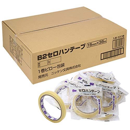 共和 セロハンテープ 大巻 200巻 15mm幅×35m巻 B2-T1535_200
