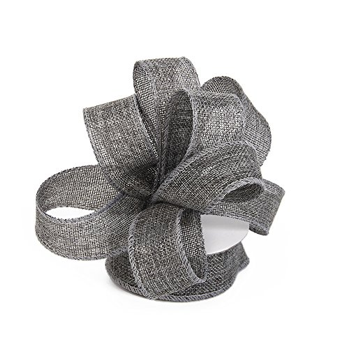 Burlap Ribbon Perfect for Wedding Home Decoration Gift Wrap...