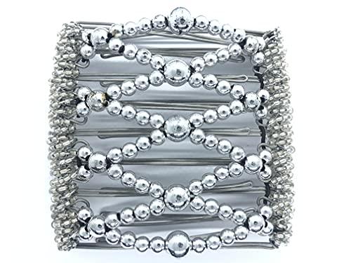Original un clip 9 dents Environ 10 cm en acier inoxydable Peigne