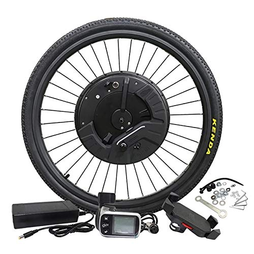 GJZhuan IMortor 3DC Motor 36V350W MTB Road Bike Front Motor Wheel with App Electric Bicycle Conversion Kit E Bicycle Kit (Color : Disc APP, Size : 29 in)