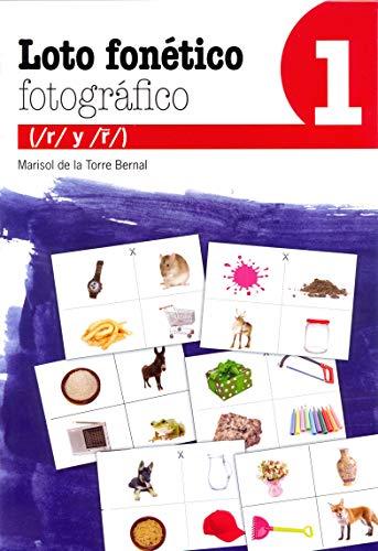 Loto Fonético Fotográfico 1: 46 (Reeducación logopédica)