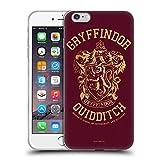 Head Case Designs Licenciado Oficialmente Harry Potter Gryffindor Quidditch Deathly Hallows X Carcasa de Gel de Silicona Compatible con Apple iPhone 6 Plus/iPhone 6s Plus