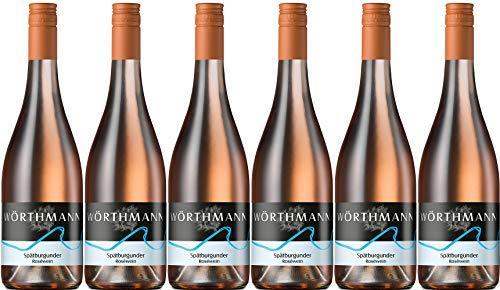 Wörthmann Spätburgunder Rosé 2019 Lieblich Bio (6 x 0.75 l)