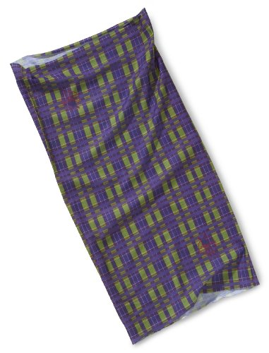 Lässig Ltext31034 - Foulard - Mixte - Multicolore (Check Moss) - One Size (Taille fabricant: One Size)