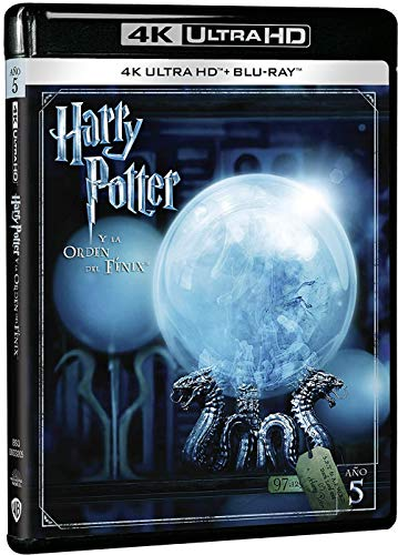 Harry Potter y la Órden del Fénix 4k UHD [Blu-ray]