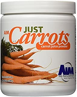 AIM Just Carrots for great carrot juice net wt,14.1oz/400g by AIM International