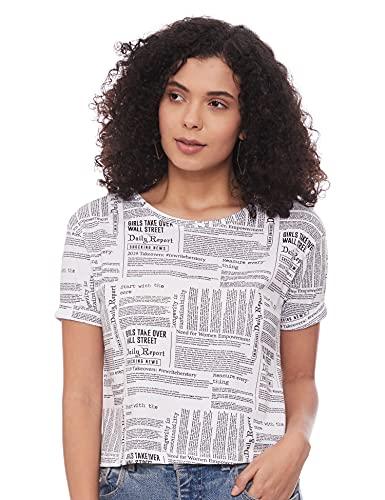 Max Women's Slim T-Shirt (SU21YBAOP04WHITE_White L)