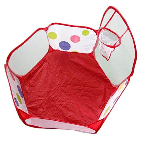 Janly Clearance Sale Juguetes al aire libre, hasta Hexágono Lunares Niños Juego de Bola de la Piscina Tienda de Carpa de Transporte de Juguetes, Juguetes y Pasatiempos para Regalo de los Niños