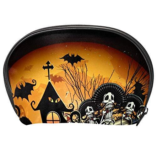 TIZORAX Sac à maquillage pratique pour Halloween ou friandises