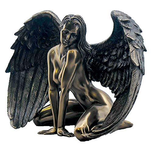 Nemesis Now Figur Engel Passion, 17,5 cm, Bronze, Kunstharz, Einheitsgröße