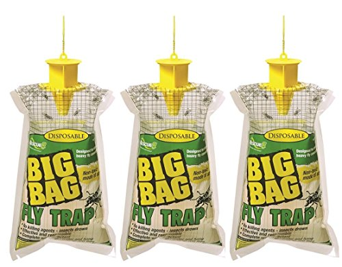 Rescue - Disposable Non-Toxic Big Bag Fly Trap (3 Pack)