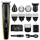 Beard Trimmer For Men, slopehill Cordless Hair Clippers Mustache Trimmer Multi-functional Grooming Kit for Nose Ear Hair Trimmers Body Groomer All In One USB Rechargeable Waterproof