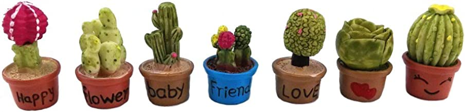 1:12 Dolls House Miniature Handmade Small Green Tree Flower Pot models H4S0