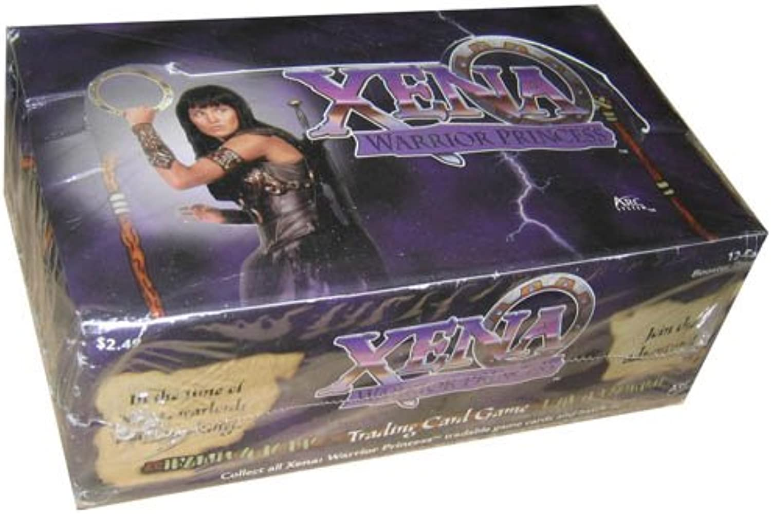 Xena Warrior Princess TCG Booster Pack Display