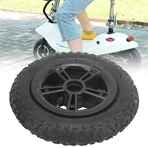 Neumático de scooter eléctrico, neumático de goma de scooter resistente y duradero para bicicletas eléctricas para scooters, carros de bebé