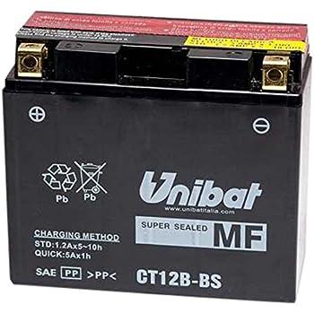 12/V//10Ah Yuasa YT12B-BS/ /Batteria dimensioni: 150/x 69/x 130