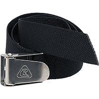Cressi TA625000 Riemen - Cinturón con Hebilla de Apertura rápida, Color Negro