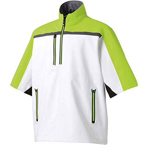 c12e59e075be FootJoy Men s Hydrolite Short Sleeve Rain Shirt