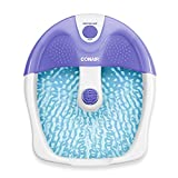 Conair Foot Spa/Pedicure Spa with Soothing Vibration Massage, Purple