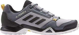 outdoor Men's Terrex AX3 Hiking Boot, Size 12, (Light Granite, Black, Active Gold)