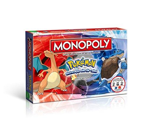 Monopoly Pokémon Kanto Edition - Schnapp sie dir alle! | Gesellschaftsspiel | Familienspiel | Spielklassiker |