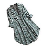 Sencillo Vida Bluas de Mujer Camisa Algodón Blusa Mujer Elegante Manga Corta Camisa Suelta Mujer Casual Verano Shirts