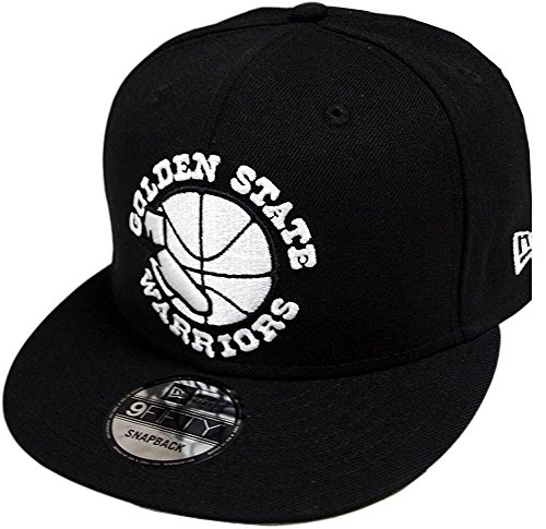 New Era Golden State Warriors HC Black White 9fifty Snapback Cap Limited Edition