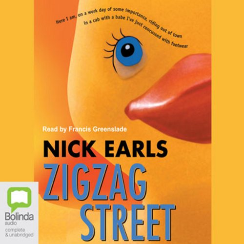 Zigzag Street audiobook cover art