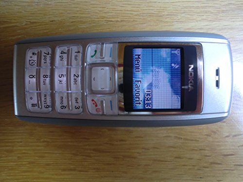 Handy Nokia 1600 Silber Ohne Simlock