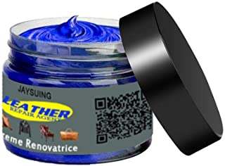 Leather Recolouring Balm - Leather Color Restorer for Furniture, Leather Color Repair for Faded & Scratched Sofas, Cars, S...