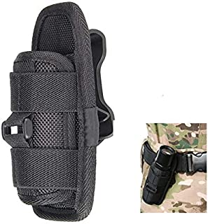 Meiyiu Flashlight Holster Torch Light Pouch Nylon Duty Flashlight Holder for Duty Belts