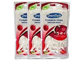 3x DenTek COMPLETE Clean Zahnseide Sticks