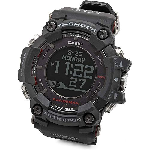 Men039;s Casio G-Shock Master of G Rangeman Black Watch GPRB1000-1