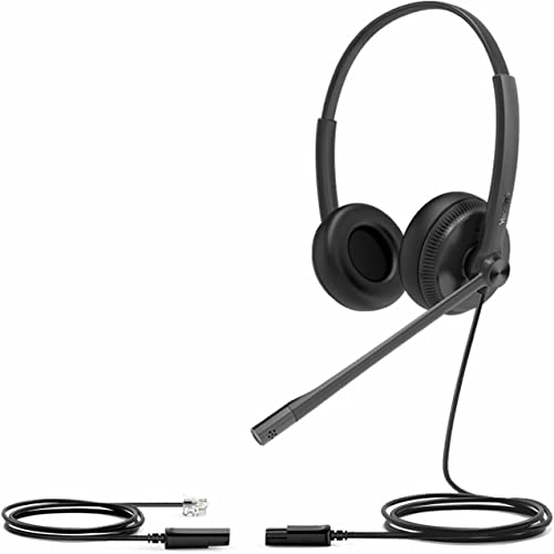 new arrival Yealink YHS34 Dual lowest Analog Headset - popular QD to RJ9 online