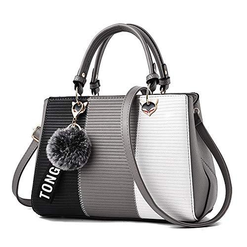 nicole & amp; doris new wave borse da donna borsa a tracolla borsa da donna borsa da donna borse da donna cachi