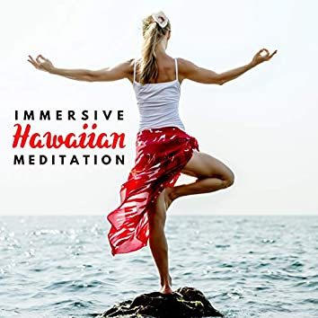 Immersive Hawaiian Meditation – Deep Relaxation with Hawaiian Ukulele, Guitar and Ocean Sounds, Healing Meditation for Tired Mind